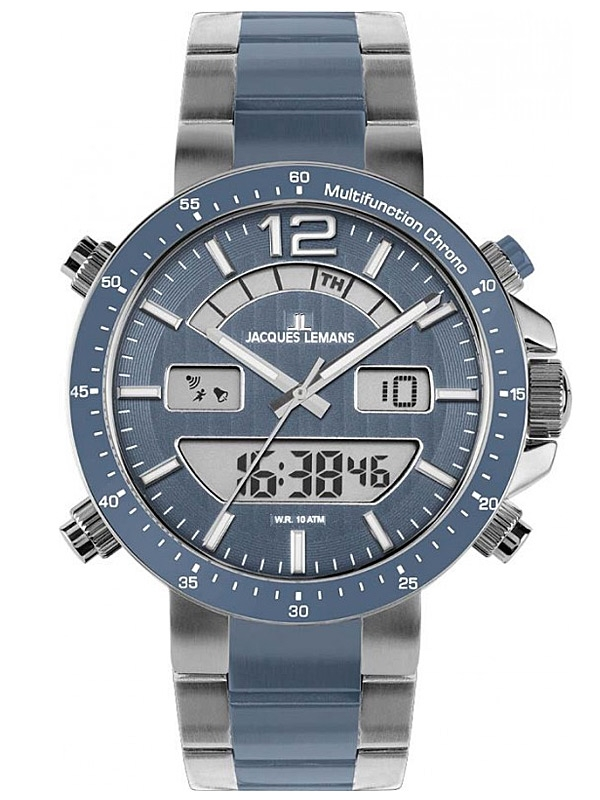 Jacques Lemans Milano 1-1712W Ceas Barbatesc Multifunction