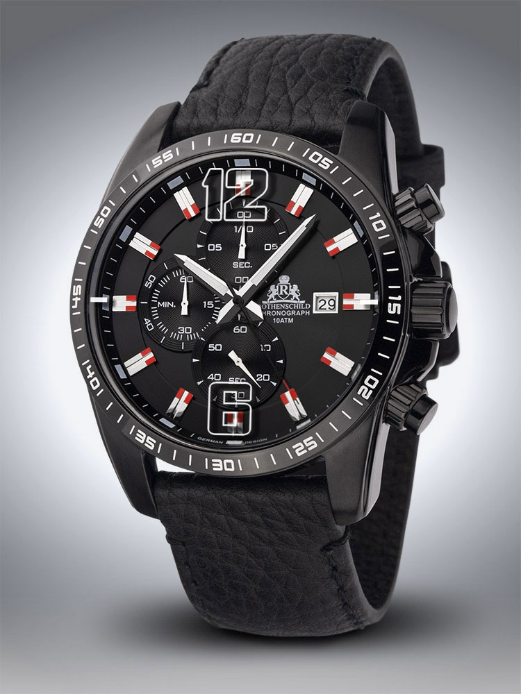Rothenschild Techno Chronograph RS-1002-IB-Rd