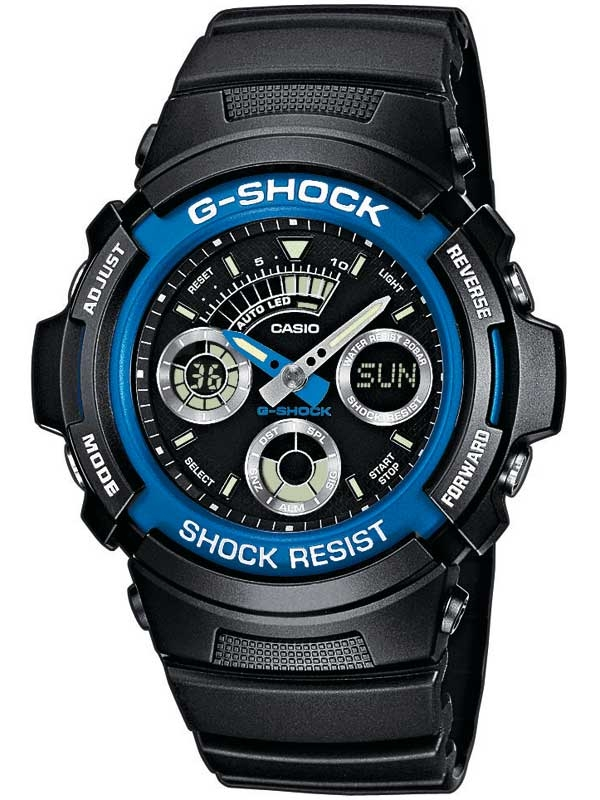 Casio AW-591-2AER G-Shock Herren 46mm 20ATM