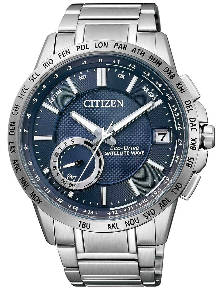 Citizen Eco-Drive Satellite Wave Elegant CC3000-54L Herren 44mm 10ATM