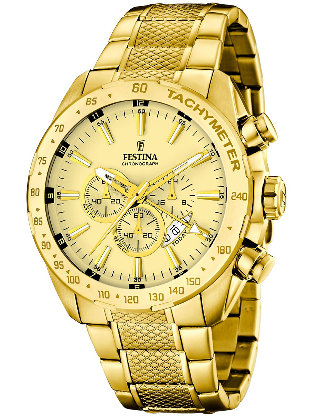 Festina F16878/2 Chronograph Herren 44mm 10ATM