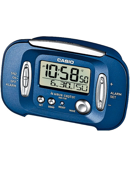 Casio Wake Up Timer DQD-70B-2EF Radio Alarm Clock
