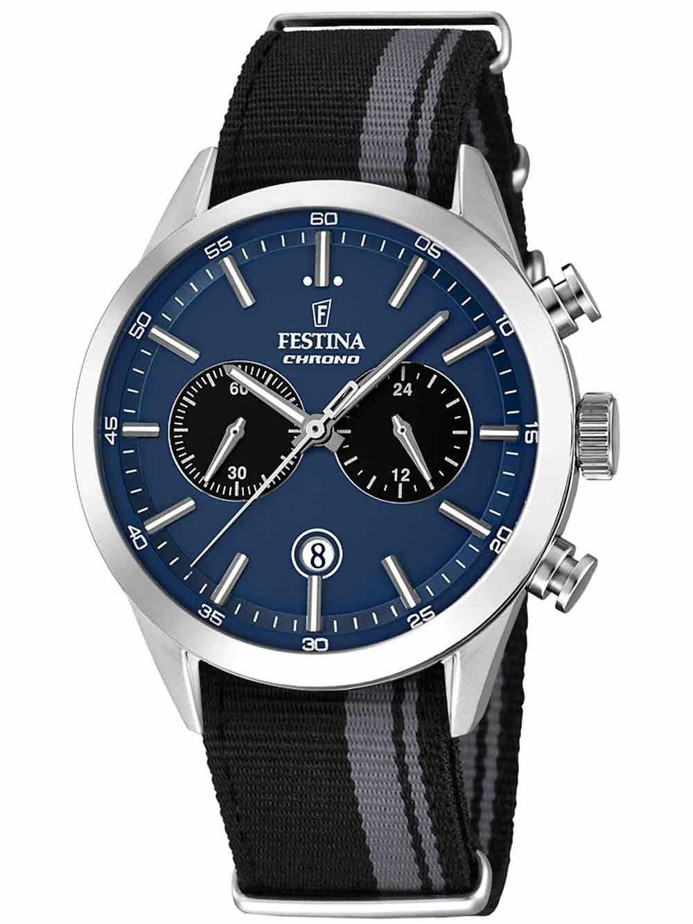 Festina F16827/2 Chronograph Herren 44mm 5ATM