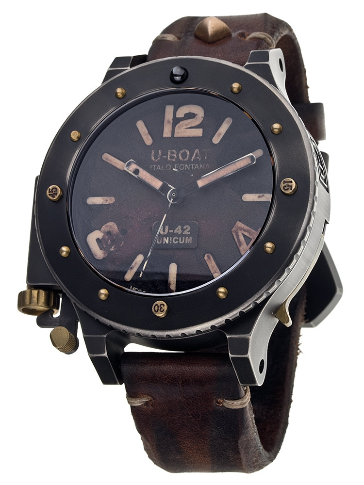 U-Boat U-42 Unicum 8088 Edition Second Titanium - Bronze 53 mm Automatic