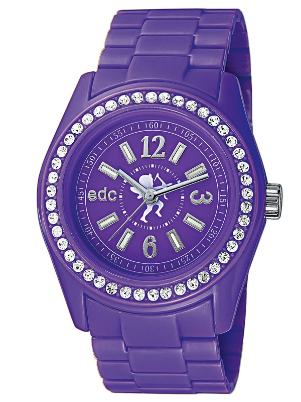 edc by Esprit EE900172005 Disco Glam Purple Ceas de dama