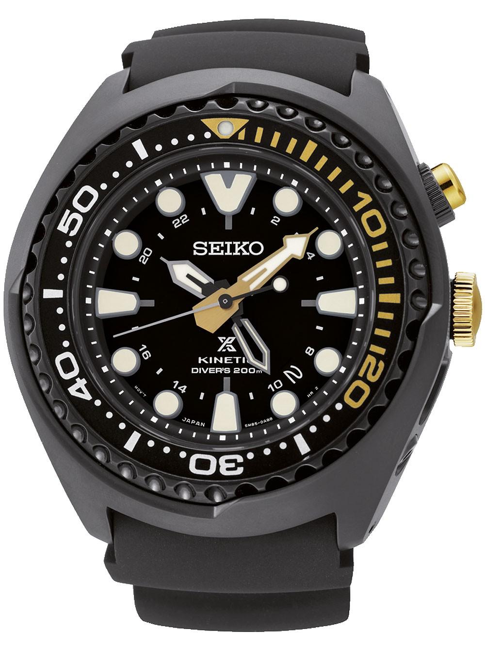 Seiko SUN045P1 Prospex Kinetic GMT 48mm 20ATM