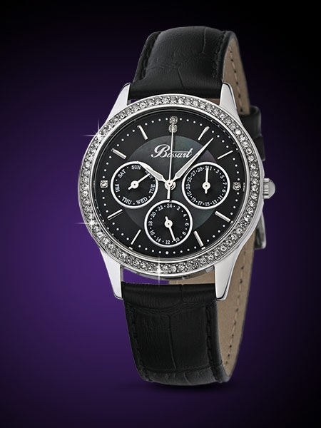 Bossart Ceas de dama Glam BW-1001-SS