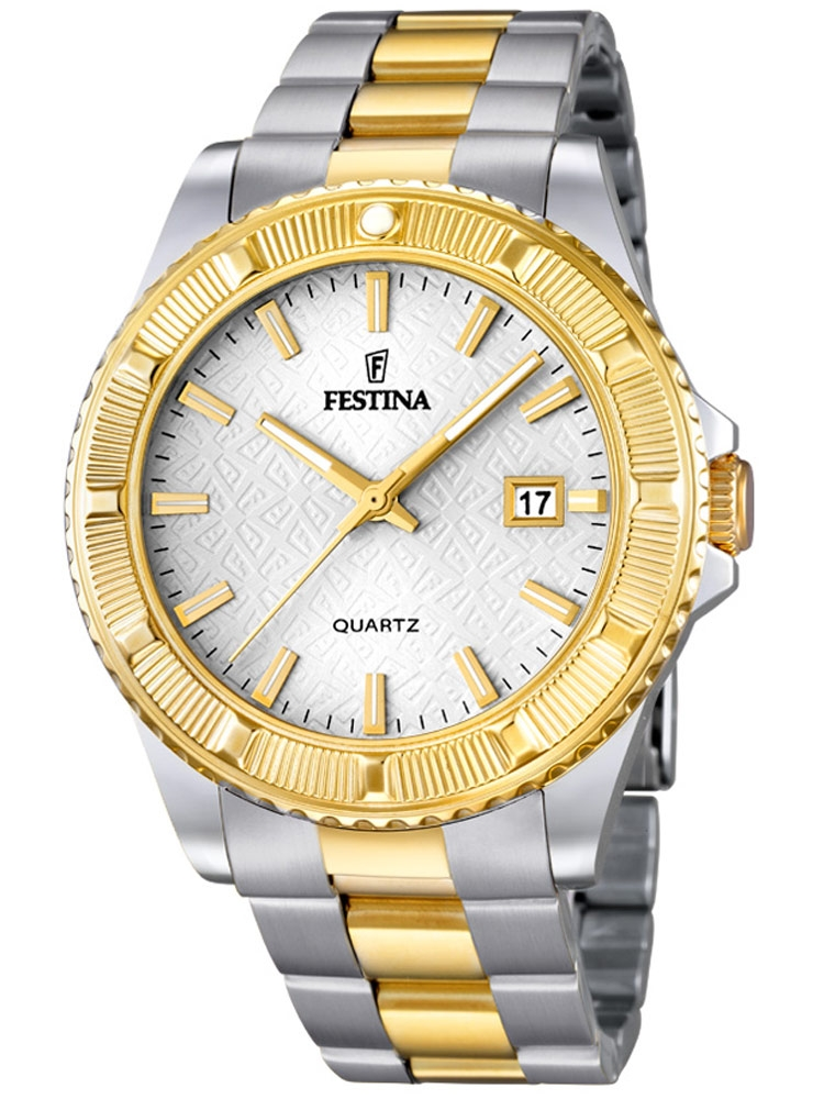 Festina Vendome F16683/1 Femei bicolor 40 mm