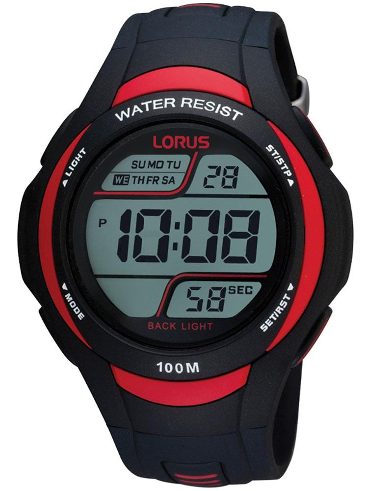 Lorus R2307EX9 Barbati Digital Ceas 10 ATM 46 mm