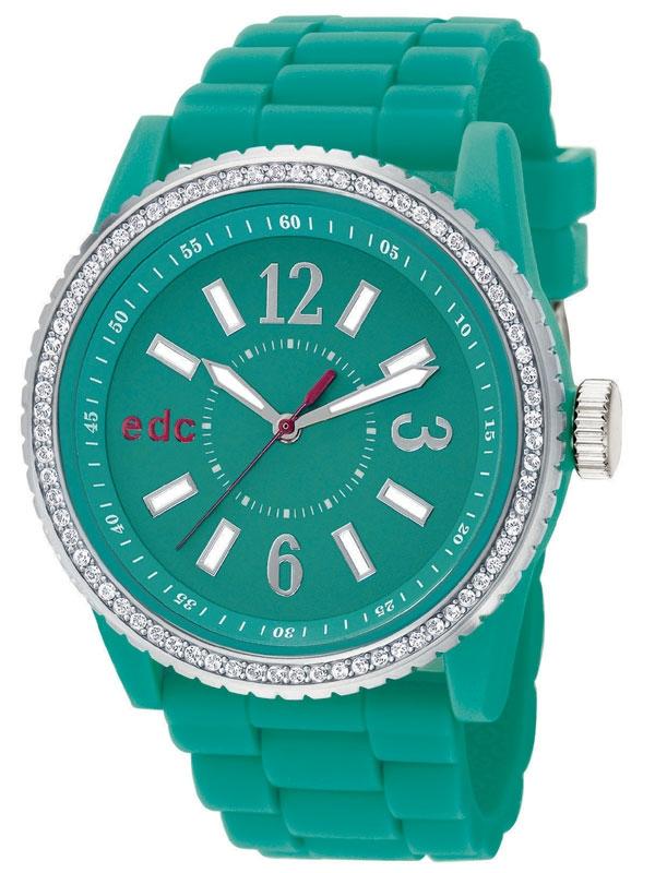 edc by Esprit EE101032004 Discoglam Envy Cool Turquoise Ceas de dama