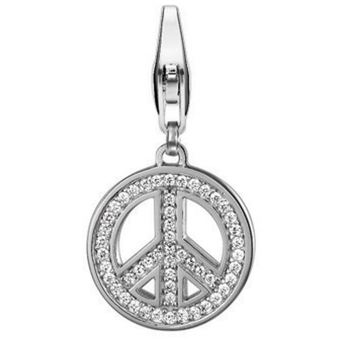 Esprit Argintiu Charm Pendant Peace ESCH90914A000
