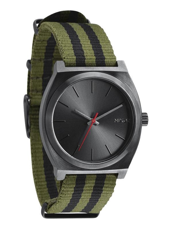 NIXON Time Teller A045-1151 Surplus Negru Nylon Unisex