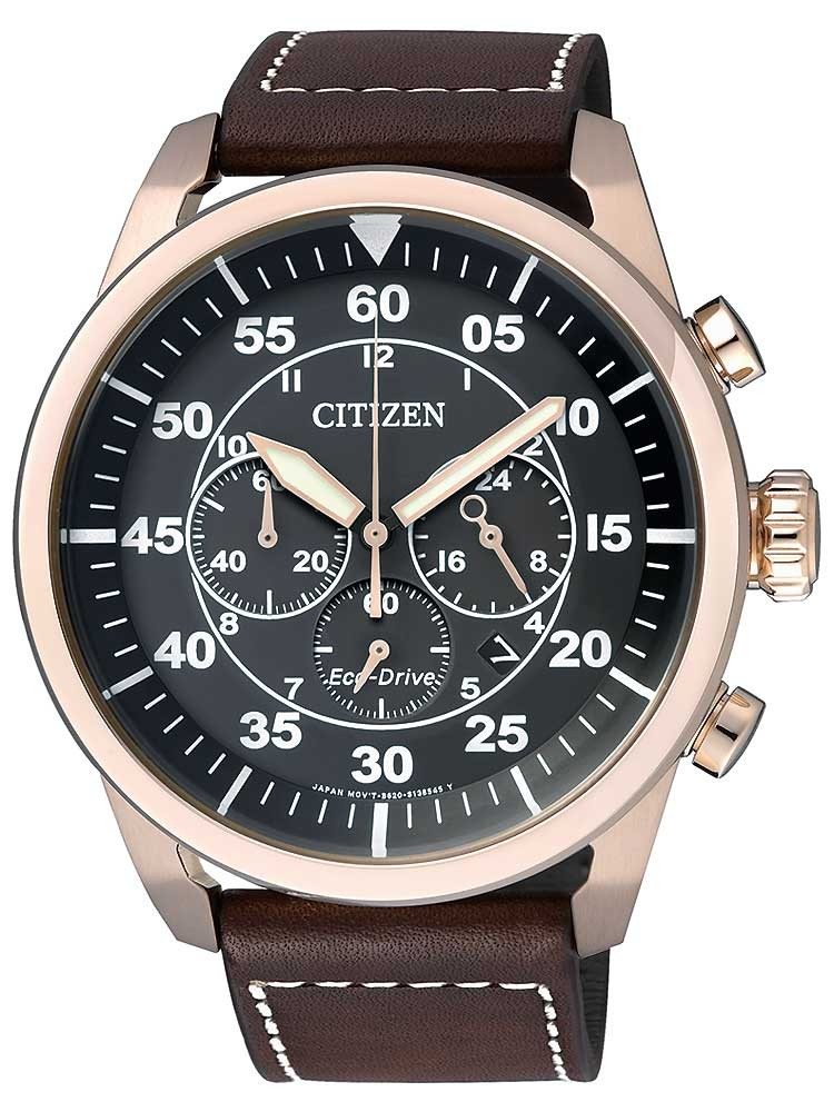 Citizen Eco-Drive Sports Chronograph CA4213-00E Herren 45mm 10ATM