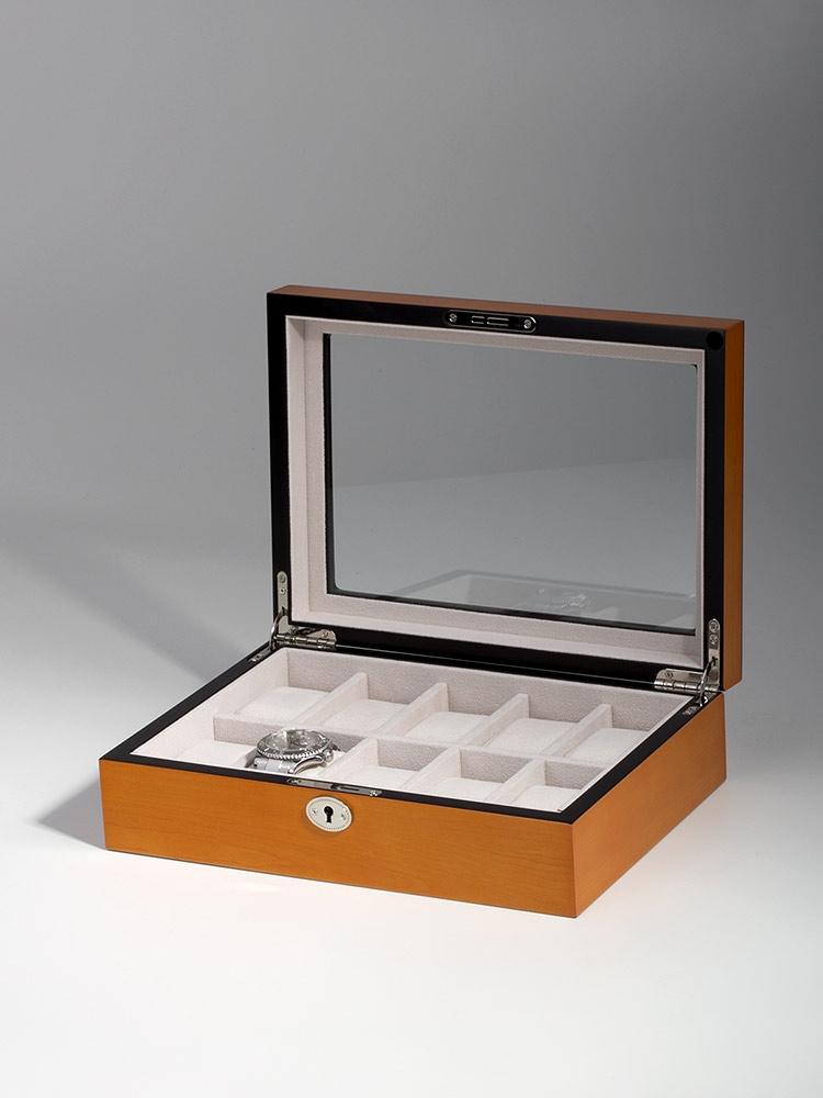 Rothenschild Ceas cutie RS-2039-10O pentru 10 Ceasuri stejar