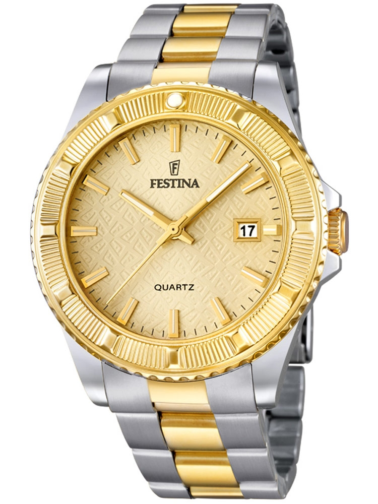Festina Vendome F16683/2 Femei bicolor 40 mm