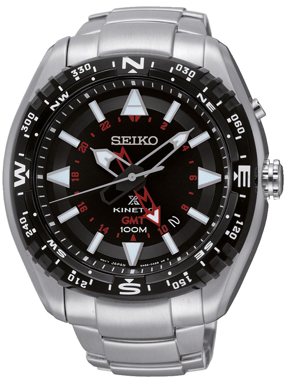 Seiko SUN049P1 Prospex Kinetic GMT 46mm 10ATM