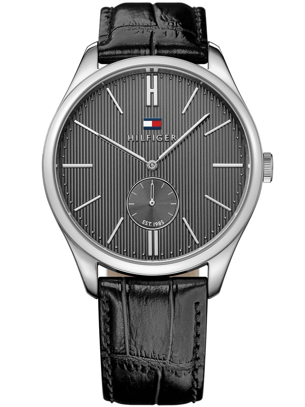 watches chrono12 tommy hilfiger 1791168 herrenuhr 44mm. Black Bedroom Furniture Sets. Home Design Ideas