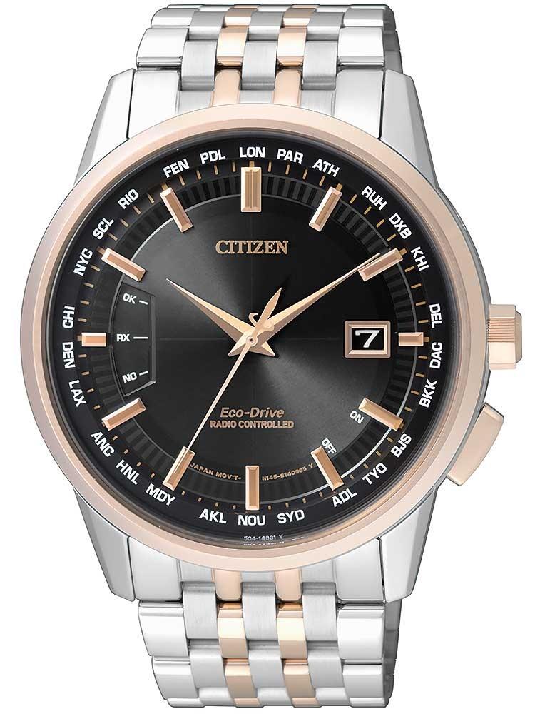 Citizen Eco-Drive Funkuhr Elegant CB0156-66E Herren 43mm 10ATM