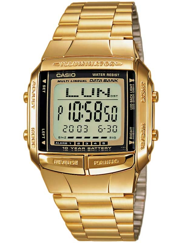 Casio DB-360GN-9AEF CASIO Collection Herren 35mm 3ATM