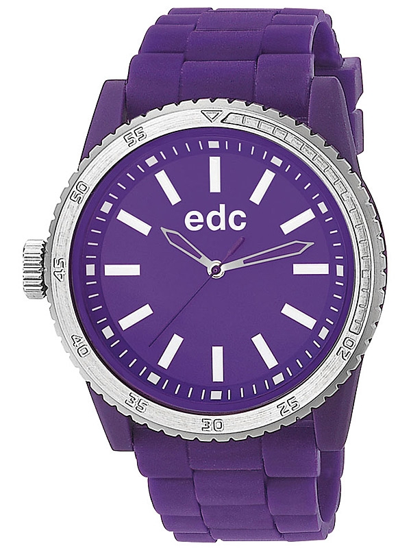 edc by Esprit EE100922006 Rubber Starlet Crazy Purple Ceas de dama