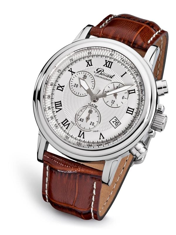 Bossart BW-1201-WAS-BrLe Ceas Barbatesc Chronograph