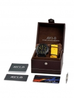 Ceas: Ceas barbatesc AVI-8 AV-4036-01 Hawker Hunter Chrono 45mm 5ATM
