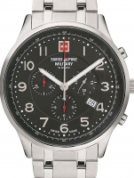 Ceas: Swiss Alpine Military 7084.9137 Chronograph 43mm 10ATM