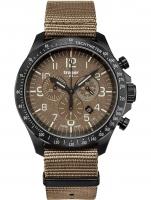 Ceas: Ceas barbatesc Traser H3 109459 P67 Officer Cronograf Khaki Nato 46mm 10ATM