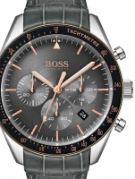 Ceas: Ceas barbatesc Hugo Boss 1513628 Trophy Cronograf  44mm 5ATM