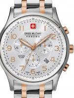 Ceas: Ceas barbatesc Swiss Military Hanowa 06-5187.12.001 Patriot 43mm 10ATM