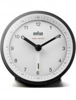 Ceas: Braun BC07BW-DCF classic radio controlled alarm clock