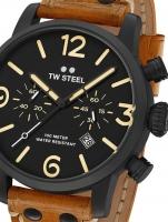 Ceas: Ceas barbatesc TW-Steel MS34 Maverick Cronograf 48mm 10ATM
