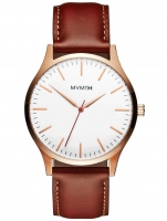 Ceas: Ceas barbatesc MVMT MT01-WBR 40 Series Rose Gold Natural Tan  40mm 3ATM