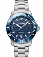 Ceas: Ceas de dama Wenger 01.0621.111 Seaforce  36mm 20 ATM