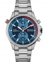 Ceas: Hugo Boss 1513823 Globetrotter chrono 46mm 10ATM