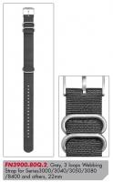 Ceas: Curea de schimb Luminox Textil FN3900.80Q.2 [22 mm] Gri