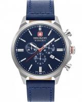 Ceas: Ceas barbatesc Swiss Milirary Hanowa 06-4332.04.003 Cronograf Classic II 45mm 10ATM