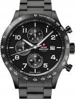 Ceas: Ceas barbatesc Swiss Military SM34084.03 Cronograf 42 mm 10ATM
