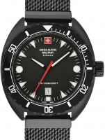 Ceas: Swiss Alpine Military 7066.1177 Turtle Herren 44mm 10ATM