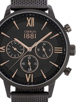 Ceas: Ceas barbatesc Cerruti CRA23406 Denno Cronograf  43mm 10ATM