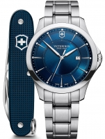 Ceas: Victorinox 241910.1 Alliance set with knife 40mm 10ATM