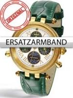 Ceas: Curea de ceas Perigaum in grun fur Millennium DAU P-0606-GGR Goldschließe