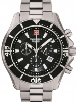 Ceas: Ceas barbatesc Swiss Alpine Military 7040.9137 Chrono 46mm 10ATM