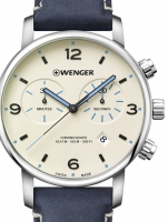 Ceas: Ceas barbatesc Wenger 01.1743.119 Urban Metropolitan Cronograf 44mm 10ATM