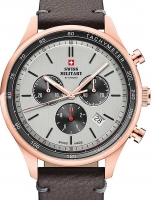 Ceas: Ceas barbatesc Swiss Military SM34081.09 Cronograf 42mm 10ATM