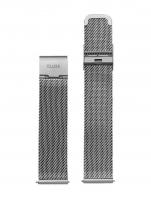 Ceas: Cluse Ersatzband CLS345 [16 mm] silber m. silber Schließe