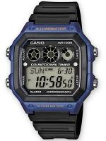 Ceas: Ceas barbatesc Casio AE-1300WH-2AVEF Collection Cronograf 10 ATM 42 mm