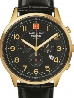 Ceas: Swiss Alpine Military 7084.9517 Chronograph 43mm 10ATM