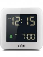 Ceas: Braun BC09W classic digital alarm clock
