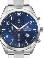 Ceas: Ceas barbatesc Swiss Military Hanowa 06-5316.04.003 Helvetus Cronograf 43mm 10ATM